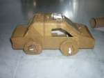 Toy car- side view