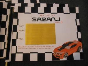 Flag Invite as scratch-card