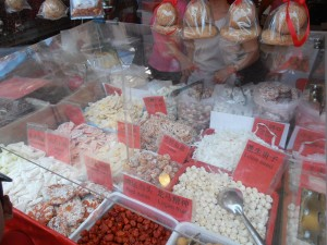 Dried food galore