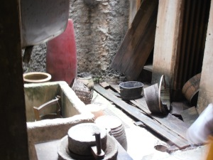 washing area from the past