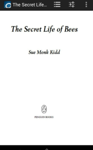 The digital title page