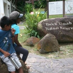 Entrance to Bukit Timah Nature Reserve
